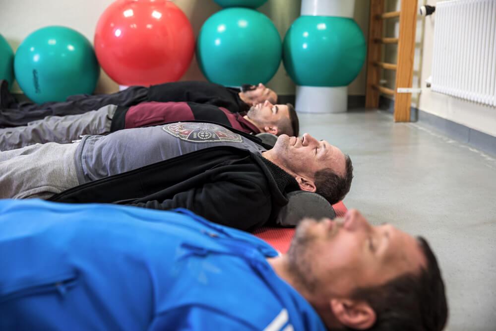 Stationäre Suchtrehabilitation - Übung