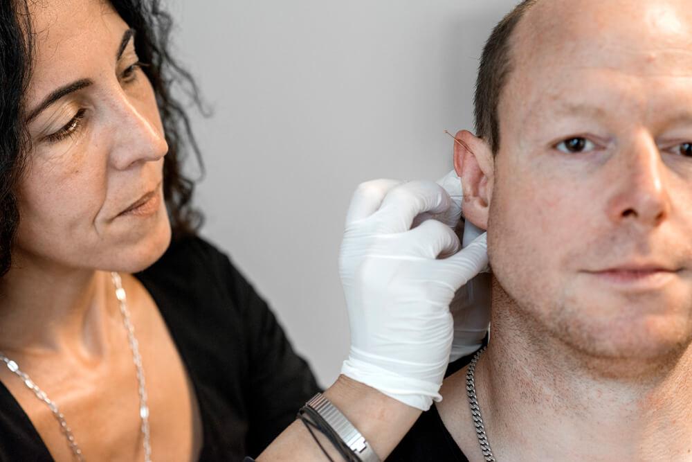Stationäre Suchtrehabilitation - Ohrakkupunktur